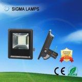 Sigma 10W 20W 30W 50W SMD impermeável IP65 12V 24V DC para Marine de luz LED de inundação