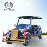 8 Seaters klassische Weinlese-Karren-elektrische Fahrzeug-Golf-Karre