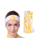 De sports de Bandana sans joint de bandeau absorbant multifonctionnel doucement (YH-HS397)