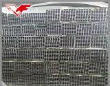 Tubo d'acciaio quadrato della serra e rettangolare galvanizzato costruzione