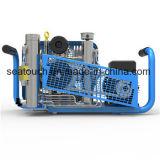 Máquina de Llenado del cilindro de gas Portable compresor de aire para Scba