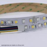 Indicatore luminoso di striscia di Rgbww LED di 5 colori 5050SMD