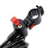 高品質の盗難防止の自転車の装甲ABS物質的なケーブルロック