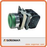 Pulsante dell'apparecchiatura elettrica di comando con il LED Sp-4bw36m5 chiaro