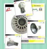 Aluminium Druckguß für Dienstlampen-Deckel mit Beschichtung