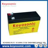 batería de plomo recargable de cinco años de las baterías 12V de la célula del gel de la garantía