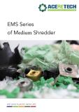 EMS medio de la serie trituradora de trozos de plástico/Película/tuberías/bolsas tejidas