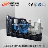 Diesel die 1500kVA van ISO Ce Goedgekeurde Generator door MTU Motor wordt aangedreven
