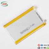 Larga vida útil de trabajo pl494877 3.8V 2500mAh Batería de polímero de litio