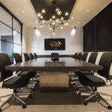 중국 사무용 가구 장방형 모양 긴 회의장 새로운 디자인 회의 테이블