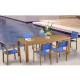 옥외 정원 알루미늄 가구 판매를 위해 내화성이 있는 싼 다방 또는 작은 술집 테이블 및 의자