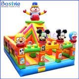 Aprovisionamento de fábrica de diversão para crianças da cidade castelo insuflável
