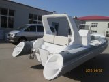 Crogiolo gonfiabile di PVC della barca di Liya 5.2m della nervatura gonfiabile dei fornitori