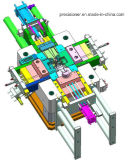 Высокая прессформа заливки формы давления с системой машины вакуума