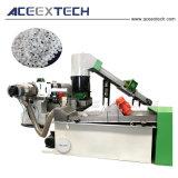 Gránulos de película plástica que hace la máquina