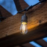 Для использования вне помещений E27 съемные светодиодный индикатор строки с 15m 15 лампы