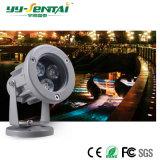 IP65 impermeável 3W Refletor LED de exterior