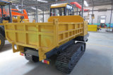De nieuwe Kipwagen van de Vrachtwagen van het Kruippakje van de Carrier van het Spoor van de Kipwagen van het Kruippakje