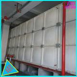 高い鋼鉄ガラス繊維FRPの部門別の水漕