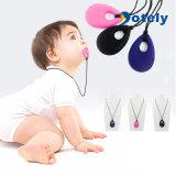아기 아이 실리콘 젖니가 남 모유로 기르는 목걸이 펀던트 씹기 씹을 수 있는 보석