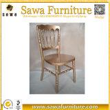 Лучшее качество проектирования Кьявари свадьбы стул Наполеона стулья
