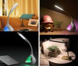 Signcomplex Nuevo toque Rueda de color 7W LED moderna lámpara de escritorio
