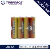 Mercury&Cadmium freie China Fabrik-ultra alkalische Batterie mit Belüftung-Kasten 24PCS (LR6/AA Größe)
