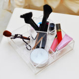Countertop van het Perspex van de douane de Met de hand gemaakte In het groot Duidelijke Organisator van de Make-up