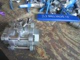 De Kogelklep van de Las van de Las van de Contactdoos van het roestvrij staal 1000wog 3PC