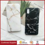 O mármore feito sob encomenda novo de IMD veia caixas do telefone do estilo para o iPhone X
