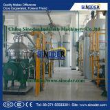 Olio di girasole della raffineria degli impianti di lavorazione dell'olio di girasole della scala media