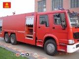 Sinotruk HOWO 6X4 LHD/Rhd 20000literの消火活動のトラック