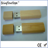 Mini palillo material de madera del mecanismo impulsor del USB (XH-USB-024)