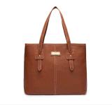 Borsa quotidiana di cuoio del sacchetto di Tote dell'PU della signora causale (WDL0822)