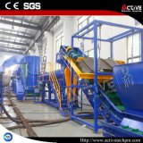 escama de la botella del animal doméstico 500-3000kg/H que recicla la máquina