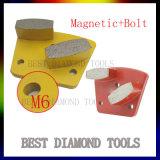 Trapezoïde 2 de Malende Stootkussens van de Diamant van de Band van het Metaal van de Staaf voor het Ruwe/Middelgrote/Fijne Malen van de Vloer