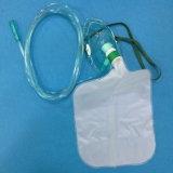 관 (녹색)를 가진 비 병원 Portable Rebreather 산소 마스크
