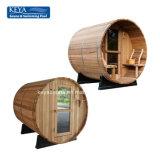 Sauna canadese del barilotto del cedro rosso di sauna portatile per il giardino