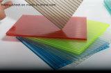 Doppel-Wand Polycarbonat-Höhlung-Blatt-Fabrik-Unterseiten-Preis