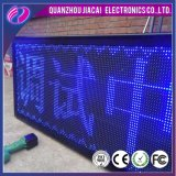 Cartelera al aire libre de la pantalla LED del color LED de P10 Bule
