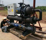 Cer-Bescheinigung 100 Tonne Hanbell Kompressor-Wasser-Kühler für Verkauf