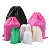 Sacs de cordon de bourrage non tissés promotionnels d'achats d'emballage de tissu