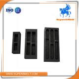 Creuset approuvé de graphite de platine de bâti en métal de qualité d'OIN de norme internationale