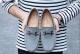Ботинки шлюпки Moccasins Loafer Horsebit мыжские для управлять