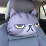 3D 고양이 개 베개 3D 고양이 개 차 머리 받침 베개