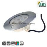 18W en acier inoxydable IP68 Piscine subaquatique de lumière à LED