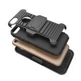 Neueste Qualitäts-schroffer Plastikrüstungs-Kasten TPU PC 3 in 1 Kickstand Fall für iPhone X Fall