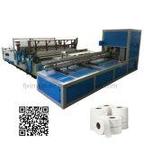 Jumbo completamente automático Rollo papel higiénico que hace la máquina Línea de producción