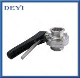 304 / 316L Edelstahl-Sanitär-Absperrklappe (DYT-01)
