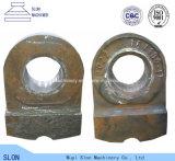 Bergwerksausrüstung zerteilt Mangan-Gussteil-Zerkleinerungsmaschine-Hammer